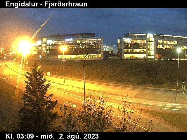 Vefmyndavél: Hafnarfjarðarvegur, Engidalur Fjarðarhraun